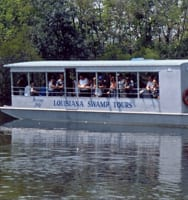 New Orleans Swamp Tour Boat