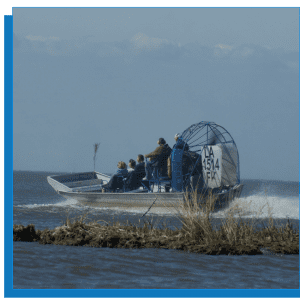 New Orleans Airboat Tour – 6 Passenger airboat