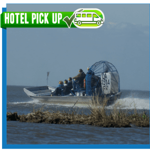 New Orleans Airboat Tour - Hotel Pickup