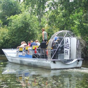 Airboat Tours Louisiana