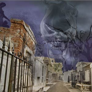 New Orleans Ghost Tour in the French Quarter