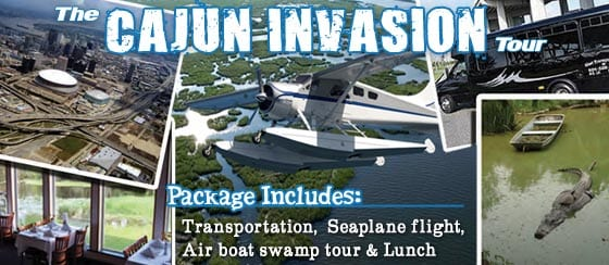 Ultimate New Orleans Seaplane Tour