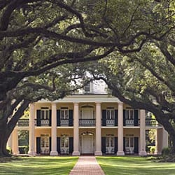 Oak Alley Plantation Tour Near New Orleans, Louisiana