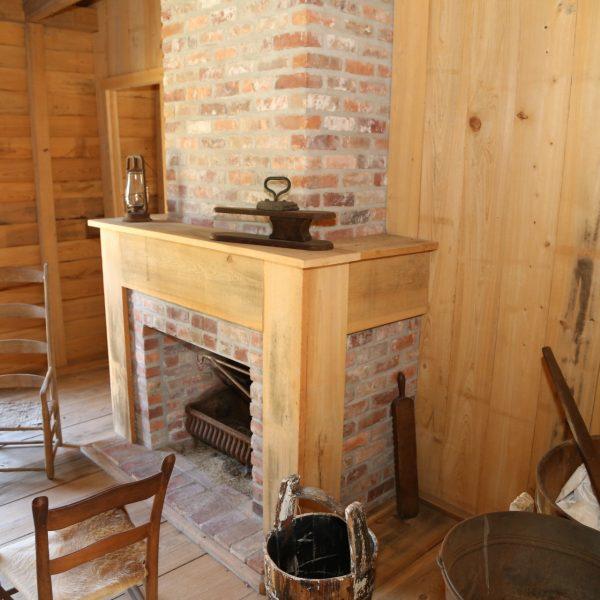 Oak Alley Plantation Slave Quarter Interior