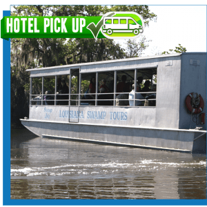 New Orleans Swamp Tour with hotel pick up