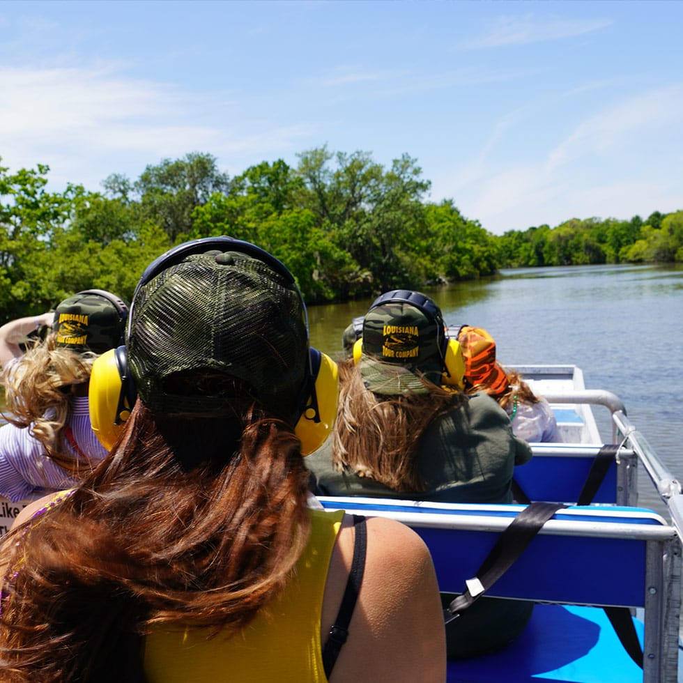 Large Airboat Swamp Tour, Swamp Tours By Airboat