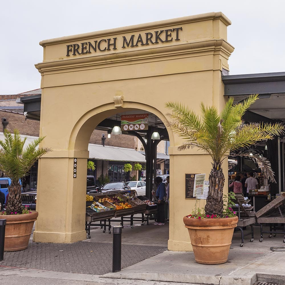 New Orleans Downtown French Market