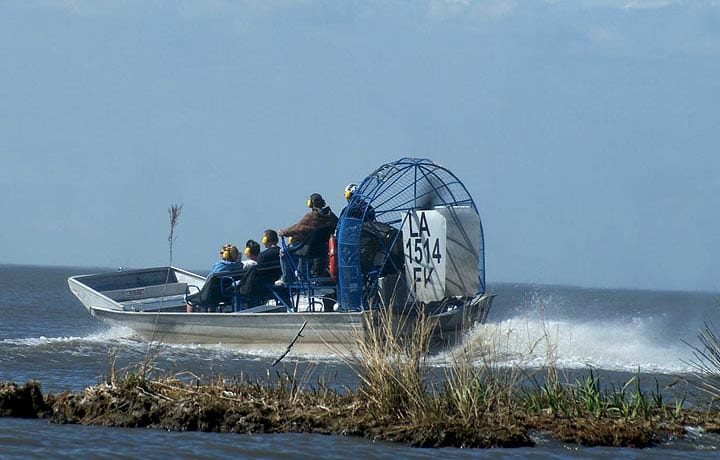 Swamp Tours by Airboat