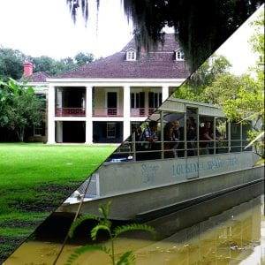 3 hour City / Katrina Tour + Large Airboat
