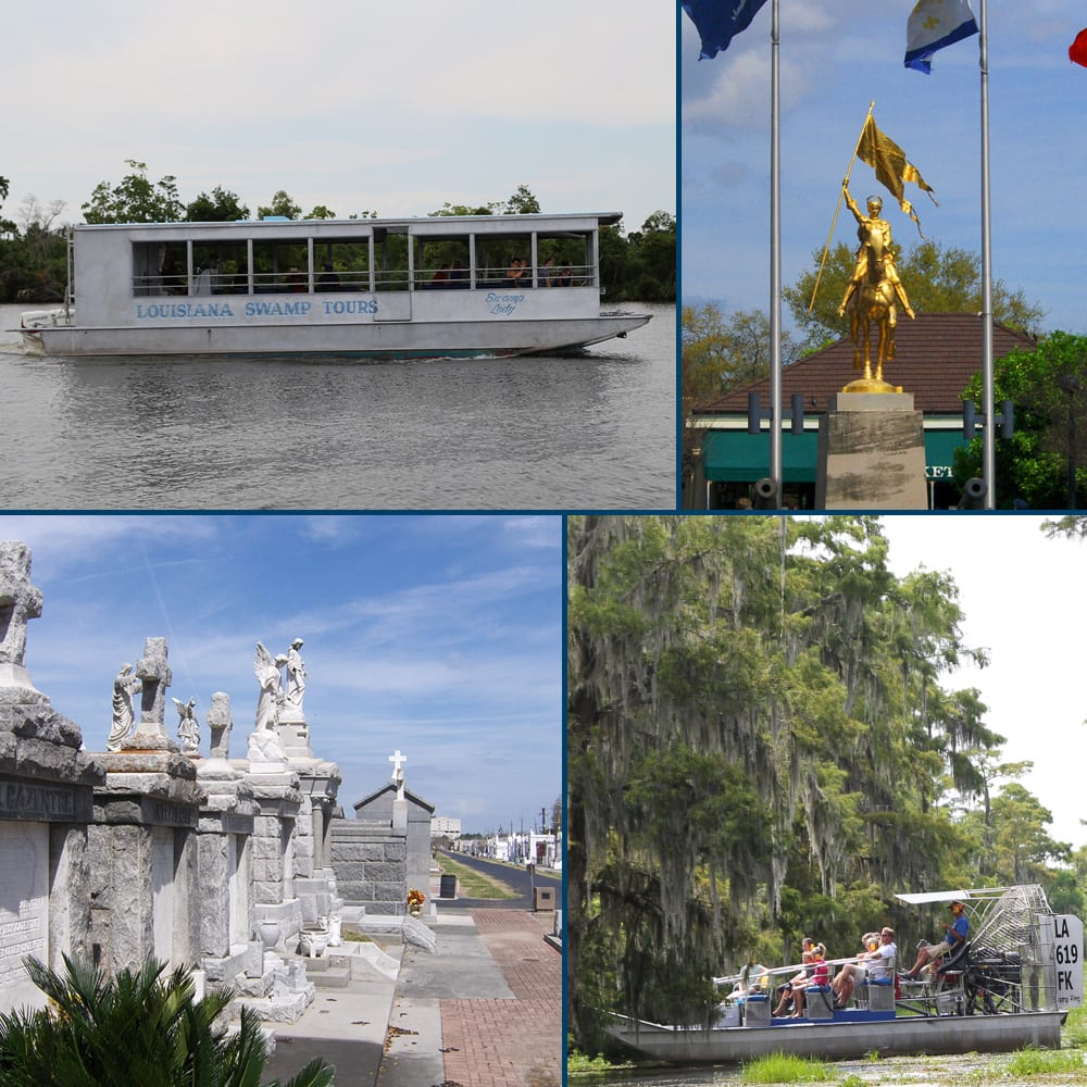 New Orleans Group Tours, New Orleans Swamp Tours