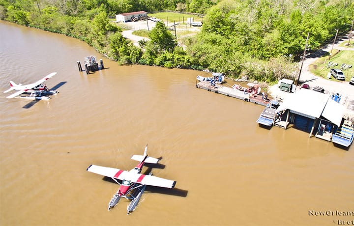 Seaplane Tour, Cajun Invasion Seaplane Tour