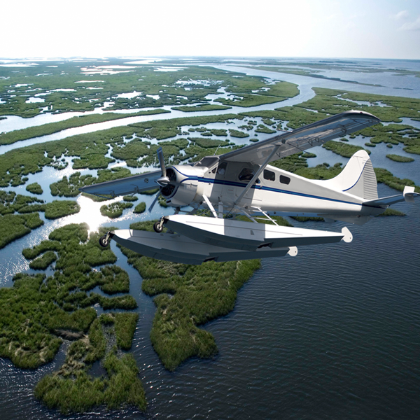 Cajun Invasion Seaplane Tour