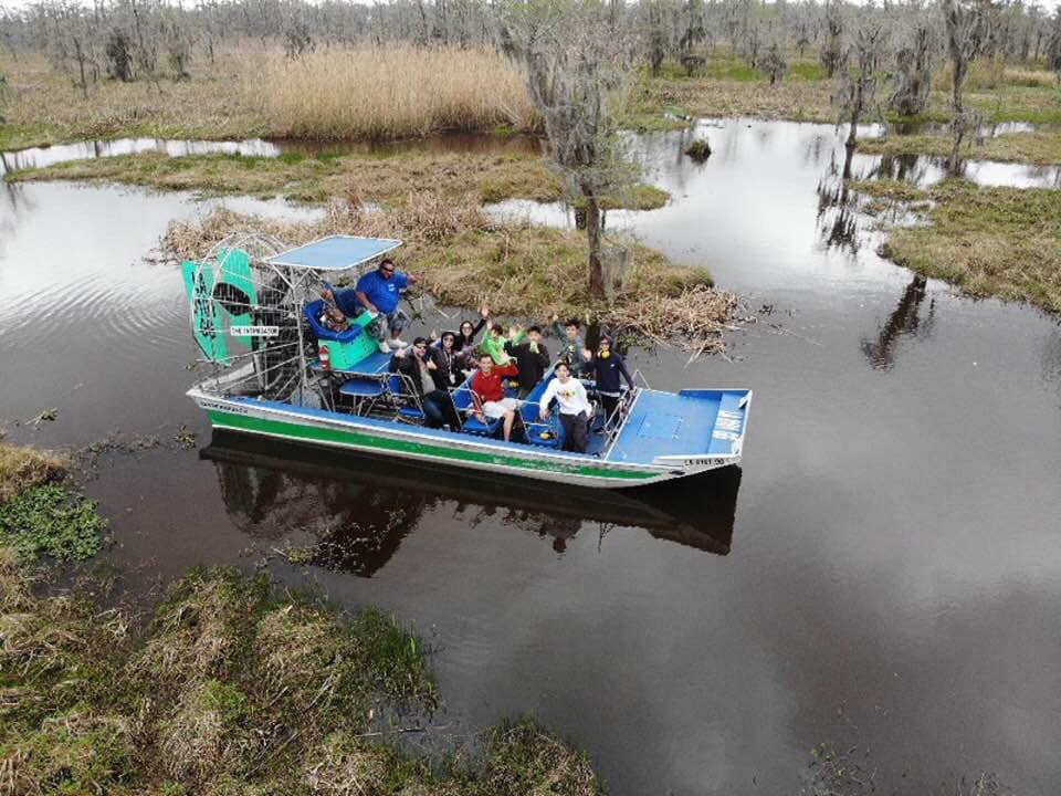 small airboat
